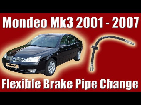 Ford Mondeo Mk3 Flexible Brake Line Replacement How To Change