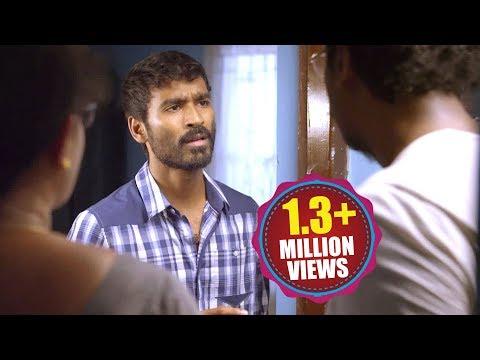 Raghuvaran B.tech Scenes - Raghu Argue With His Father - Dhanush, Amala Paul