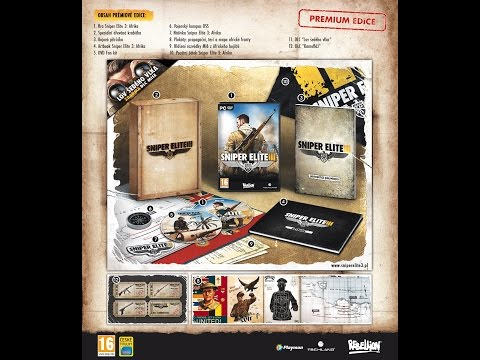 Sniper Elite 3 Africa Collector´s edition Unboxing