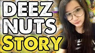 "Clash of Clans - ""DEEZ NUTS"" Story COC Funny Moments, Glitches, Fails, Trolls Compilation 