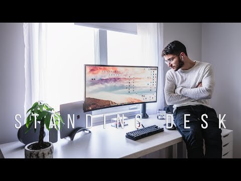 The Ultimate Standing Desk (Worth it?) ft. Anthrodesk