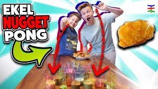 EKEL NUGGET PONG 🤢 Chicken Nuggets + Ekel Dip (Wurf entscheidet) CHALLENGE 🤣 KRASS TipTapTube