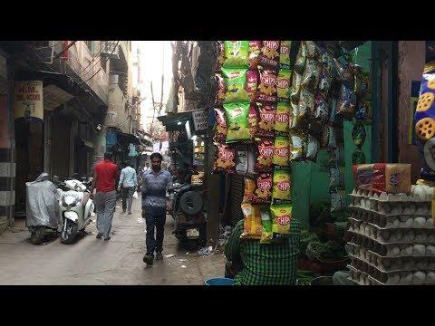 インド旅行記・India TravelオールドデリーのChawri Bazarチャウリバザール路地裏・周辺を適当に散歩Old Delhi