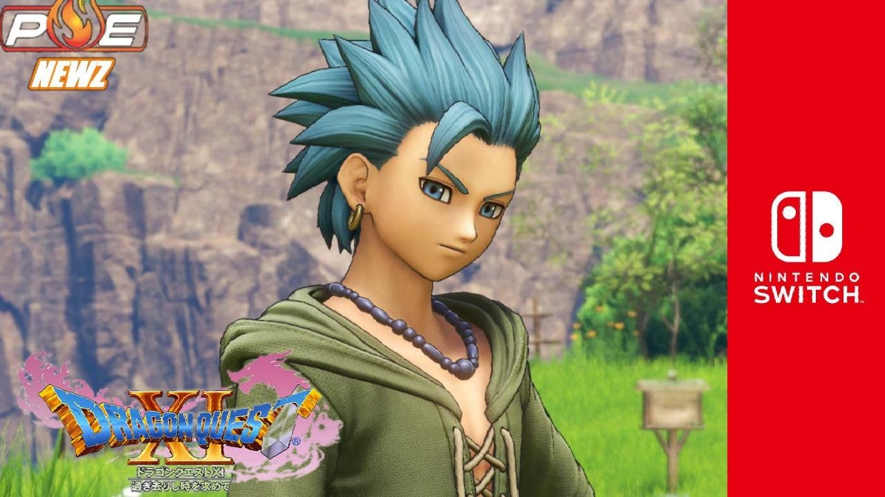 Nintendo Switch Dragon Quest Xi Update Official