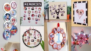 12 Latest Photo-Frame Creation Ideas !!! Unique Crafty Photo-Frame