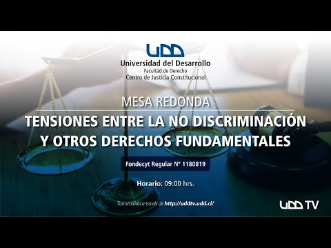 Mesa redonda | Tensiones entre la No Discriminación y otros Derechos Fundamentales