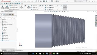 SolidWorks Tutorial: Threads on Taper Surface in SolidWorks
