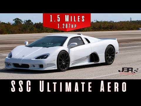 2011 SSC Ultimate Aero (Top Speed Test)