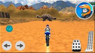 Dino World Bike Racing Game - Bike Race Game to Play