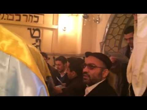 Iranian Jews pray at Tomb of Esther and Mordechai in Hamadan Iran - Fast of Esther 5776 - 2016