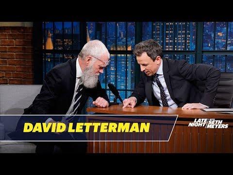 David Letterman Gives Seth a Tick