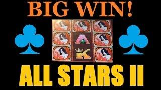 ♣♣ THE BIG SLOT BONUS! ALL STARS II & WICKED WINNINGS 2! Slot Machine Bonus & Free Spins! (DProxima)