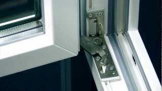 GU-BKS bezpečností kování pro okna a skryté panty UNI-JET SC.