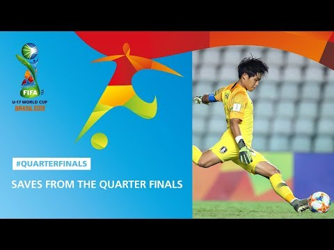 Save Highlights From The Quarter Finals - FIFA U17 World Cup 2019 ™