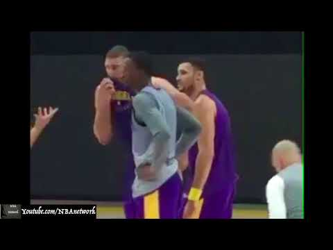 LA Lakers - Day 2 of Training Camp!