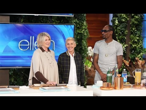 Martha Stewart and Snoop Dogg Share a Taste of Their New Show!