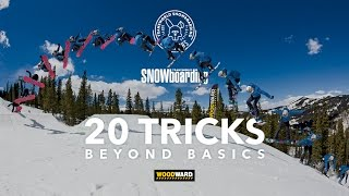 How To Snowboard : Switch Backside 540 w/ Brandon Cocard | TransWorld SNOWboarding