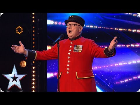 War veteran Colin's touching tribute to late wife   Auditions   BGT 2019