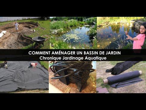 Construire un Bassin de Jardin - Étapes Aménagement Bassin extérieur