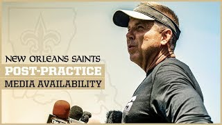 Sean Payton Previews the Saints-Bears Week 7 Matchup | New Orleans Saints Football