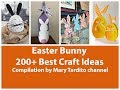 200+ Best Easter Bunny Crafts Ideas Compilation - Spring Decorating Ideas – Easter Decor