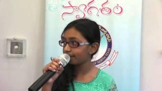 Sindhuja Kaja sings