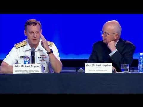 Cybercom Commander Speaks at Air, Space, Cyber Conference
