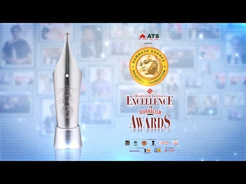 12th Ramnath Goenka Excellence In Journalism Awards 2017 Full Event