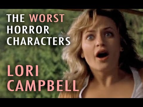 4. Lori Campbell The Next Top 5 Worst Horror Characters