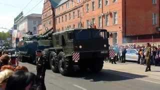 Калининград Парад победы 9 мая 2015