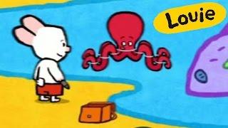 Dibujos animados para niños - Louie dibujame un pulpo HD