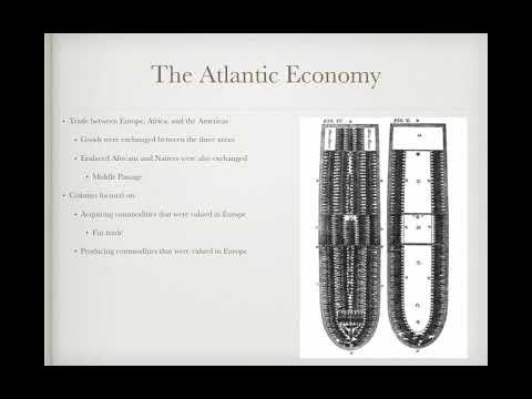 APUSH Review: Video #7: The Atlantic Economy And European ...