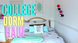BACK To School College Dorm Room HAUL !!