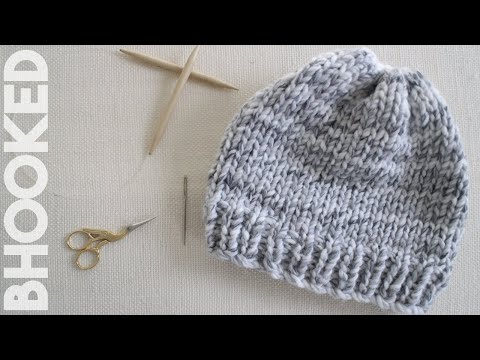 How To Knit Hat For Complete Beginners
