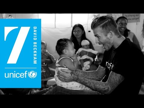 David Beckham's 10 Years At UNICEF: An Interview with Lord David Puttnam