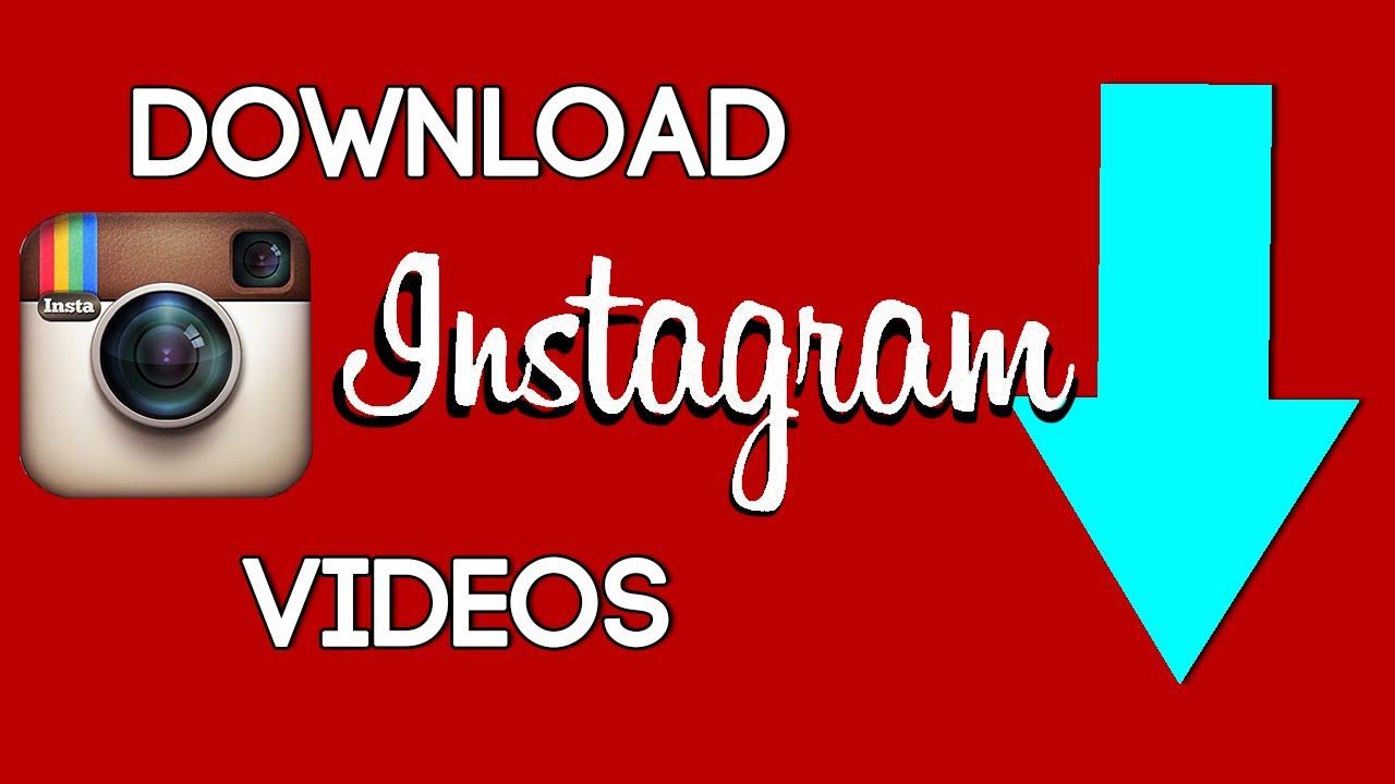 скачать инстаграм фото и видео