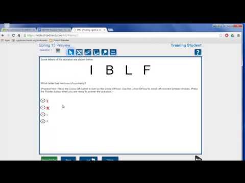 Godwin Middle School MSTEP Practice Test Tutorial - YouTube