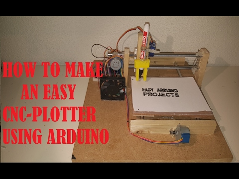 HOW TO MAKE AN EASY ARDUINO CNC PLOTTER Part 1