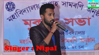 Dhere Dhere Herai Jai - Assamese Romantic Song Cover by Nipal