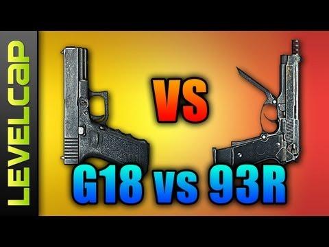 G18 vs 93r - Pistol Review (Battlefield 3 Gameplay/Commentary)
