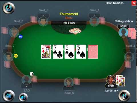 Weekly Poker Hand Episode 21 Getting Full Value From A Calling Station Youtube