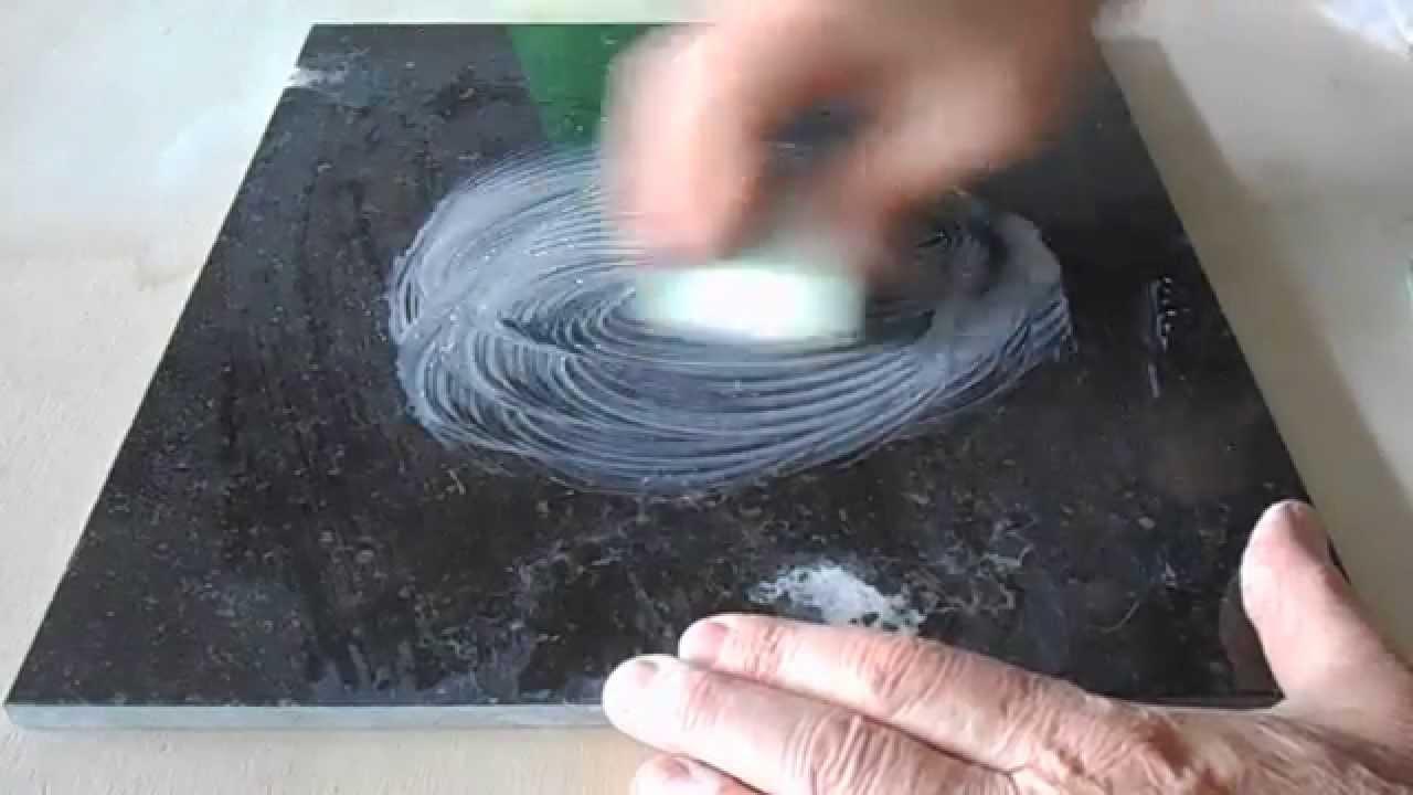 comment enlever des taches de corrosion de dtergent acide et restaurer lclat du marbre  YouTube