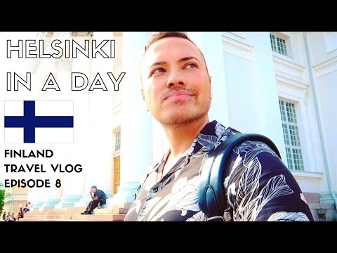 🇫🇮 FINLAND TRAVEL GUIDE/VLOG | Helsinki In A Day + Fazer Cafe | EPISODE 8