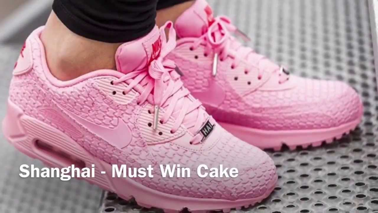 brand new 2bef4 874cb NIKE WOMEN S AIR MAX 90  SWEET DESSERT CITY  COLLECTION - YouTube
