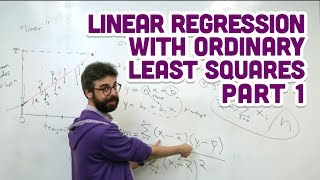 3.2: Linear Regression with Ordinary Least Squares Part 1 - Intelligence and Learning