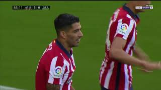 Luis Suarez' Dream Debut With Atletico Madrid ( 2 Goals & Assist)