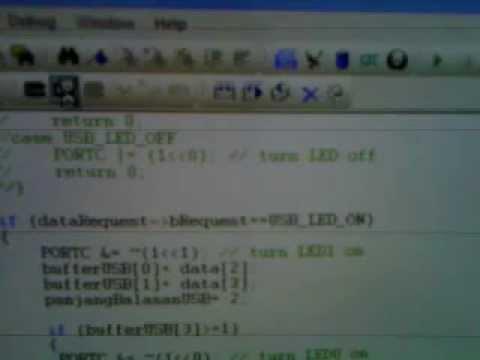 AVRISP MKii Clone Using ATmega32U4