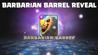 Clash Royale BARBRIAN BARREL REVEAL! (NOT MY CONCEPT I JUST MADE THE ANIMATION)