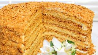 проверка рецепта из интернета/ Торт медовик в мультиварке/ Медовик простой рецепт