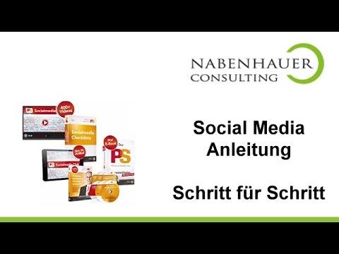 Social Media Anleitung - Schritt für Schritt - Mehr Umsatz mit dem Social Media Club - R. Nabenhauer
